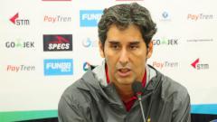 Indosport - Pelatih Persija Jakarta, Stefano Cuggura Teco.