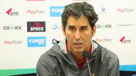 Pelatih Persija Jakarta, Stefano Cuggura Teco. - INDOSPORT
