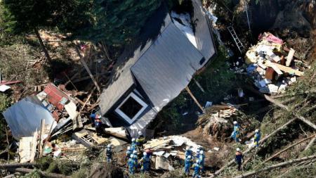 Gempa Bumi Hokkaido, Jepang pada pertengahan pekan lalu, Jumat (07/09/18). - INDOSPORT