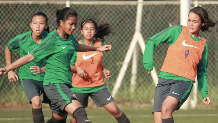 Timnas Indonesia U-16 Putri Copyright: twitter.com/PSSI