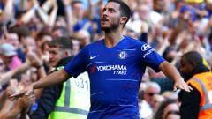 Indosport - Pemain megabintang Chelsea, Eden Hazard.