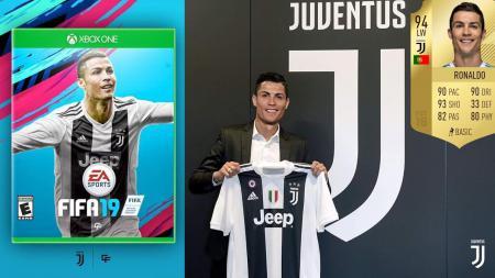 Cristiano Ronaldo di FIFA 19 - INDOSPORT