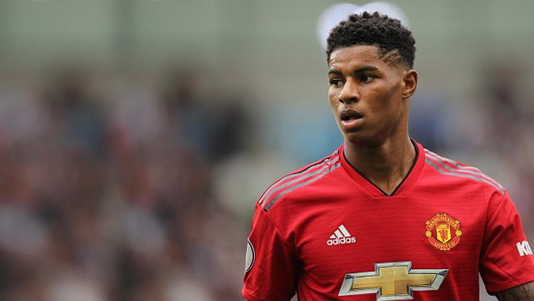 Marcus Rashford, striker Man United. Copyright: INDOSPORT