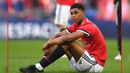 Marcus Rashford, striker Man United. - INDOSPORT