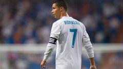 Indosport - Cristiano Ronaldo saat masih berseragam klub La Liga, Real Madrid.