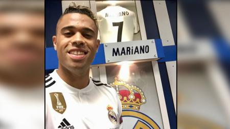 AS Roma mengincar Mariano Diaz yang tak masuk dalam rencana Zinedine Zidane di Real Madrid. - INDOSPORT