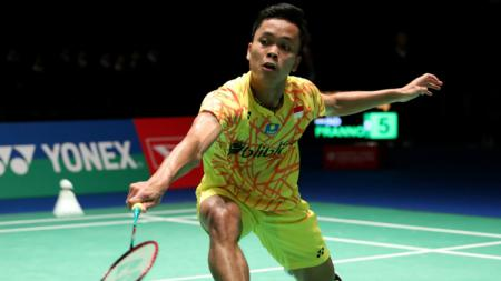 Anthony Sinisuka Ginting di Japan Open 2018. - INDOSPORT