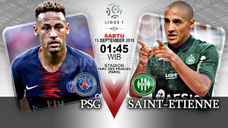 Paris Saint Germain vs Saint-Etienne (Prediksi) - INDOSPORT