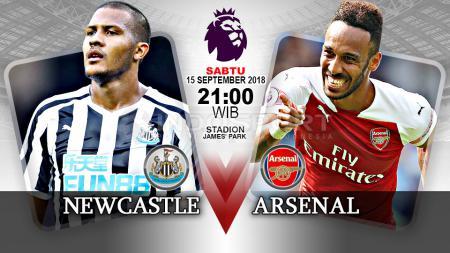 Newcastle United vs Arsenal (Prediksi) - INDOSPORT