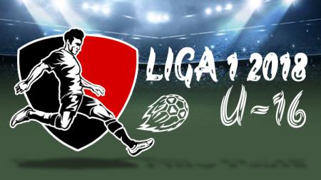 LOGO LIGA 1 U-16 2018. - INDOSPORT