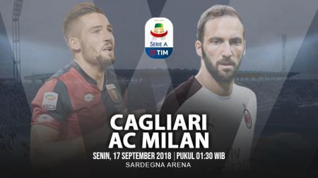 Cagliari vs AC Milan. - INDOSPORT
