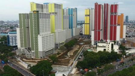 Tiru Wisma Atlet, Kemayoran, Jakarta, Myanmar akan sulap apartemen timnas sepak bolanya demi merawat pasien virus corona. - INDOSPORT