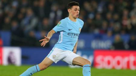 Pemain Muda Manchester City, Phil Foden. - INDOSPORT