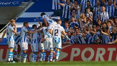 Indosport - Klub LaLiga Spanyol, Real Sociedad menegur salah satu media Spanyol yang telah memberitakan salah satu pemainnya positif virus Corona.