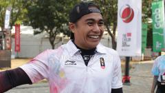Indosport - Atlet voli asal Manado, Aprilia Manganang membuat para penggemarnya rindu setelah diketahui absen di turnamen SEA Games 2019.