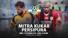 Indosport - Mitra Kukar vs Persipura Jayapura.