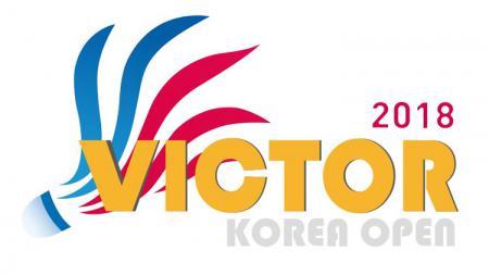 VICTOR KOREA OPEN 2018 - INDOSPORT