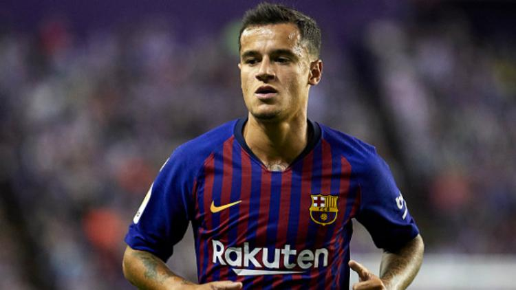 Philippe Coutinho, gelandang serang Barcelona. Copyright: Getty Images