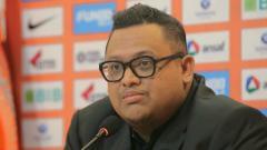 Indosport - Presiden Borneo FC, Nabli Husein murka usai timnya dikalahkan Persib di pekan ke-22.