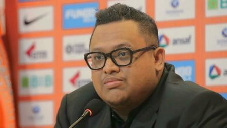 Presiden Borneo FC, Nabli Husein murka usai timnya dikalahkan Persib di pekan ke-22. - INDOSPORT