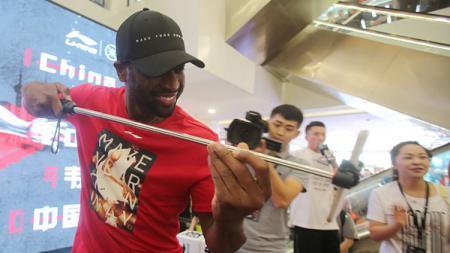 Dwyane Wade bintang basket NBA yang bermain bagi Miami Heat. - INDOSPORT