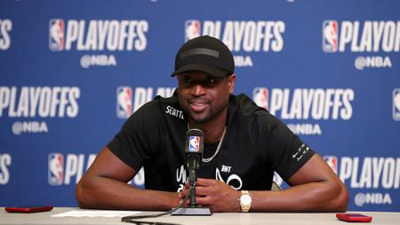 Dwyane Wade, legenda Miami Heat. - INDOSPORT