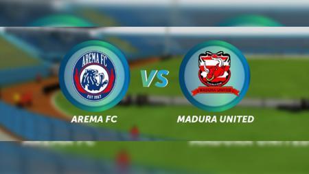 Ilustrasi laga Arema FC vs Madura United di Liga 1 2018. - INDOSPORT