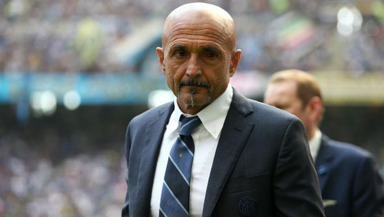 Pelatih Inter Milan, Luciano Spalletti. Copyright: Getty Images