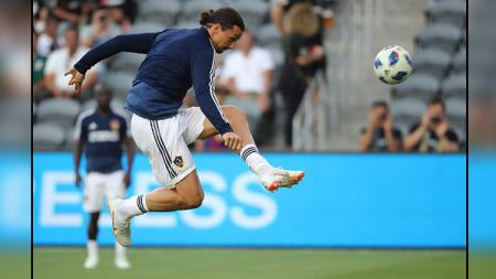 Zlatan Ibrahimovic, striker LA Galaxy. - INDOSPORT