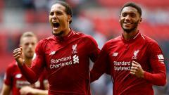 Indosport - Virgil van Dijk dan Joe Gomez, bek andalan Liverpool.