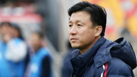 Pelatih China U-19 Cheng Yaodong. - INDOSPORT