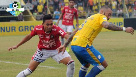 Barito Putera vs Bali United yang berakhir imbang. - INDOSPORT