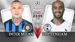 Indosport - Inter Milan vs Tottenham (Prediksi)