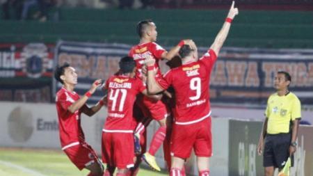 Persija Jakarta vs PSIS Semarang. - INDOSPORT