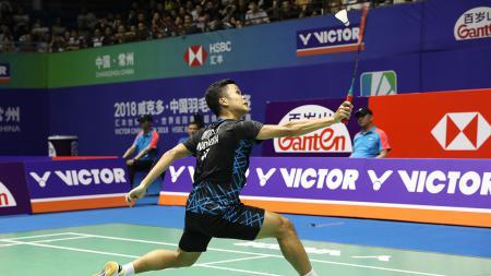 Anthony Sinisuka Ginting (China Open 2018). - INDOSPORT