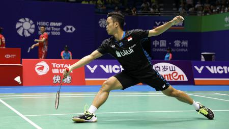 Anthony Sinisuka Ginting (China Open 2018). - INDOSPORT
