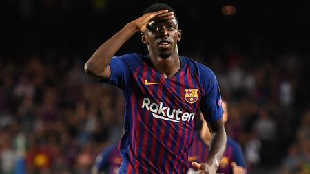 Kevin-Prince Boateng menyebut mantan rekan setimnya di Barcelona, Ousmane Dembele, sebagai pemain bermental anak kecil. - INDOSPORT