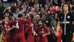 Indosport - Liverpool kalahkan PSG di Liga Champions 2018/19.