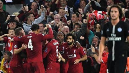 Liverpool kalahkan PSG di Liga Champions 2018/19. - INDOSPORT