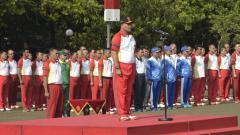 Indosport - Pidato dalam pembukaan Piala Panglima TNI