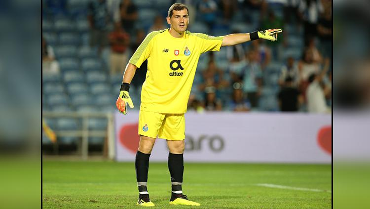 Iker Casillas, kiper FC Porto. Copyright: INDOSPORT