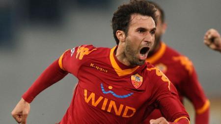 Legenda AS Roma, Mirko Vucinic. - INDOSPORT