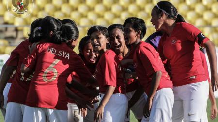 Skuat timnas Putri Indonesia U-16. - INDOSPORT