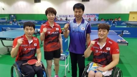 Korea Selatan dan Korea Utara berencana tampil bersama saat Asian Para Games 2018. - INDOSPORT