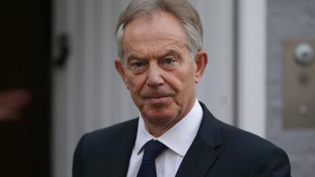 Mantan Perdana Menteri Inggris, Tony Blair. - INDOSPORT