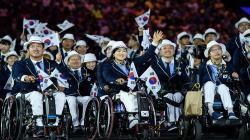 Kontingen Korea Selatan di Asian Para Games