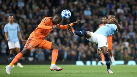 Manchester City vs Olympique Lyonnais - INDOSPORT