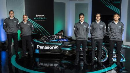 Tim Formula E Pabrikan Jaguar. - INDOSPORT