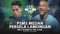 Indosport - PSMS Medan vs Persela Lamongan.