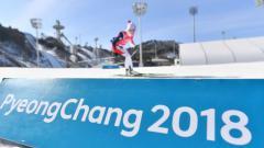 Indosport - Olimpiade Musim Dingin 2018 di Pyeongchang, Korea Selatan.